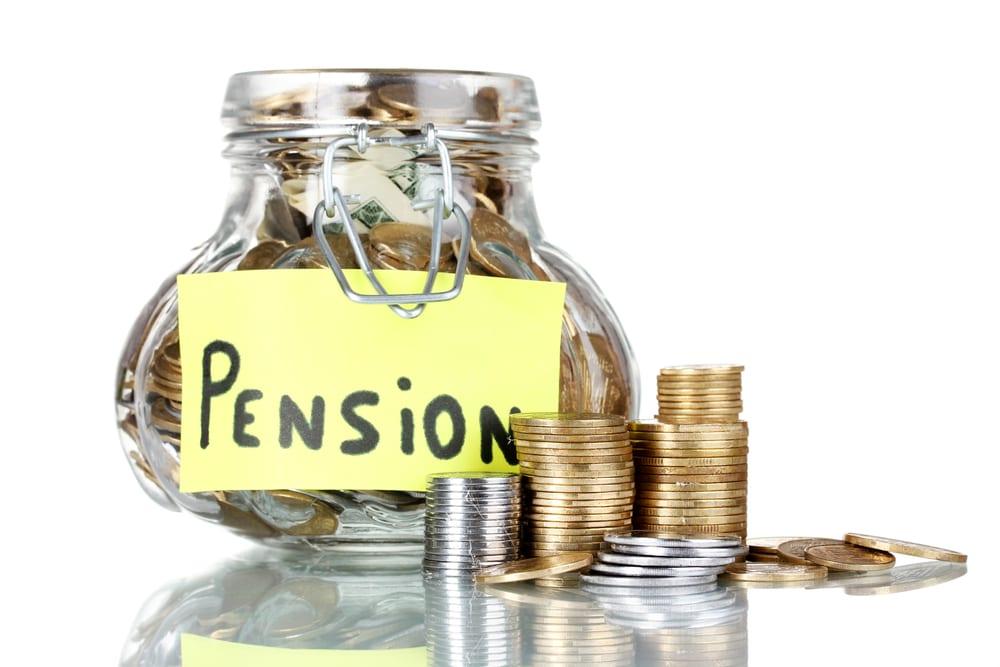pension money