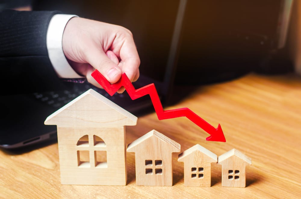 mortgages drop