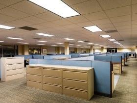 Unused office space