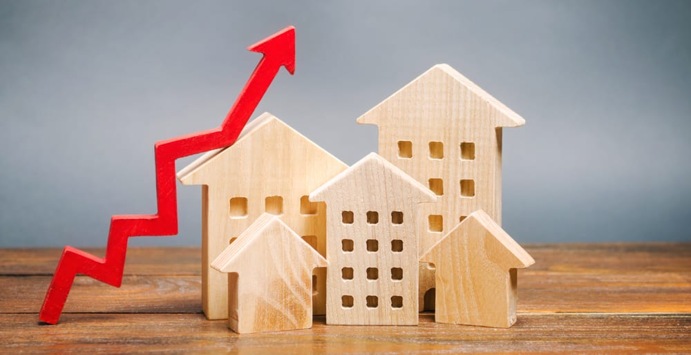 mortgages rises