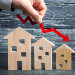 House prices dropped